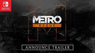 Metro Redux on Nintendo Switch™ Announce Trailer PEGI