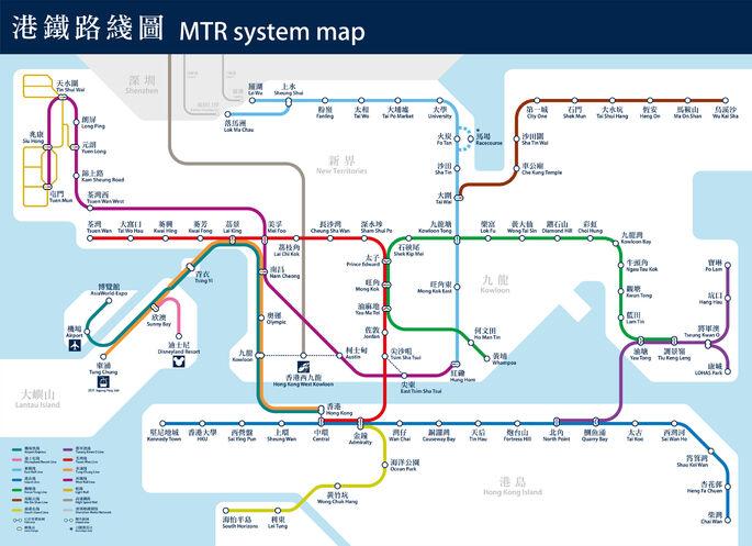 MTR Map