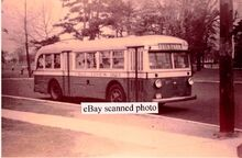 1940s C R and L BPT BUS -6 AT SEASIDE PARK