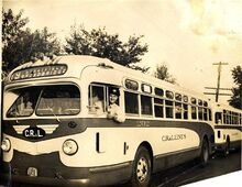 CR & L Buses Early 1950s