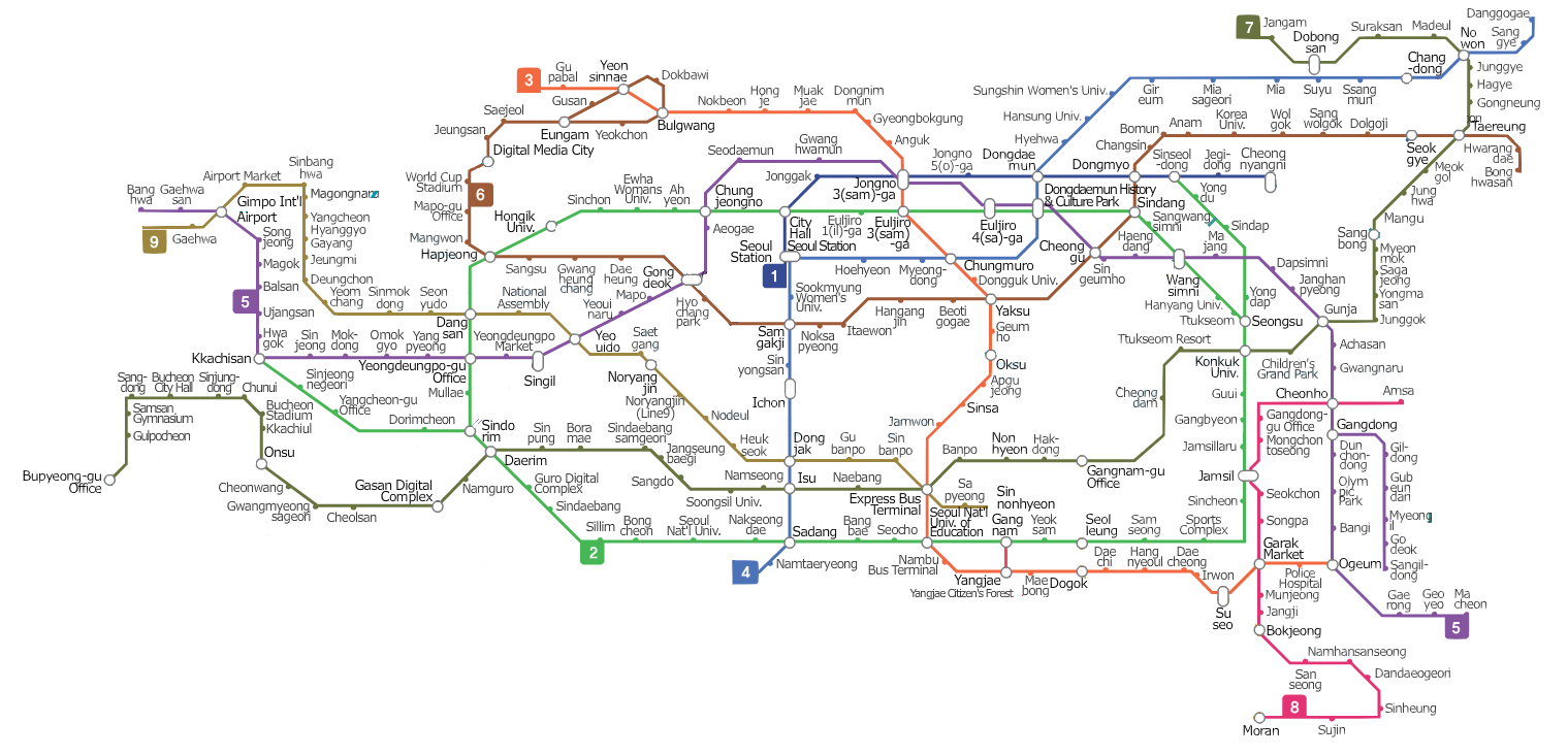 Image Seoul Subway Mappng Metro Wiki FANDOM powered by Wikia