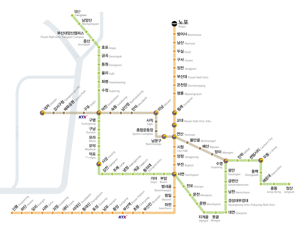Subway Map Of Busan.Image Busan Subway Map Png Metro Wiki Fandom Powered By Wikia