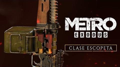 CuBaN VeRcEttI/Metro Exodus presenta sus escopetas junto a un nuevo corto de animación