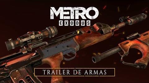 Moulderkurt.5/Metro Exodus muestra su arsenal de armas