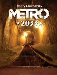 Metro 2033 - litewska okładka