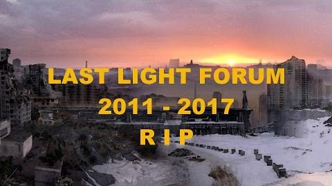 Metro Last Light Forum - Tribute