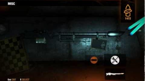 "Metro Last Light - Exclusive Season Pass weapon ""Abzats""-0"