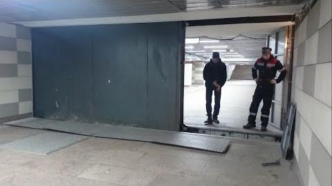 Kon'kovo metro station doors
