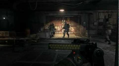 Metro 2033 (Stealth hardcore challenge walkthrough) Chapter 6 Dungeon