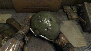 MLL Armor Red Helmet