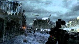 Metro 2033- Demon wrecks a guy.