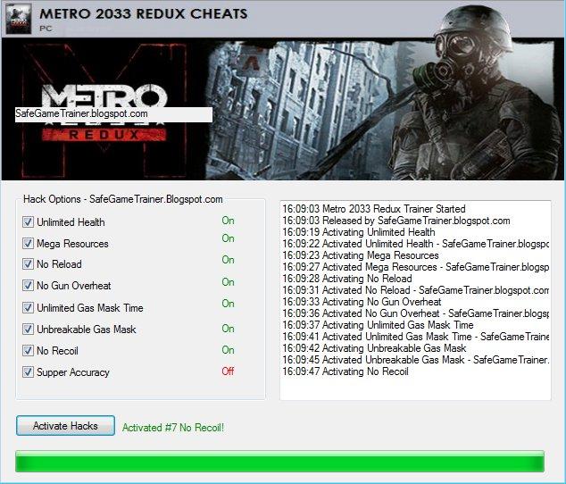 Metro last light hack all tools! Updated 2017! (new video soon.