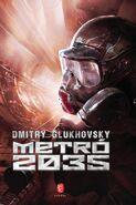 Metro 2035 - węgierska ogkładka