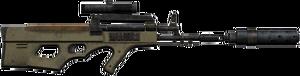 AK-2012 scope silencer
