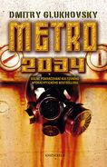 Metro 2034 (czech cover)