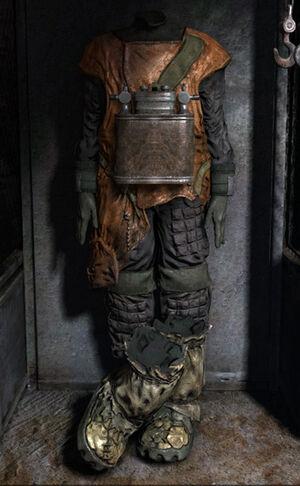 MLL hazard suit