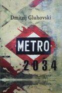 Metro 2034 - serbska okładka