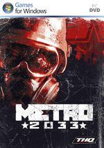 Metro 2033 PC box art