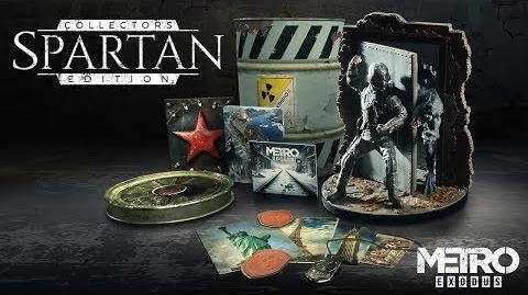 Metro Exodus - Spartan Collector's Edition Revealed