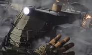 Metro armored train