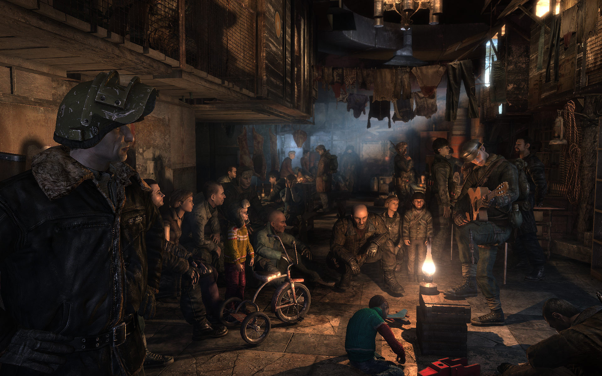 Image result for Metro 2033 game