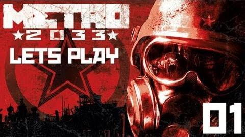 Let's Play METRO 2033 BLIND 001 - 20 Jahre nach der Apokalypse!