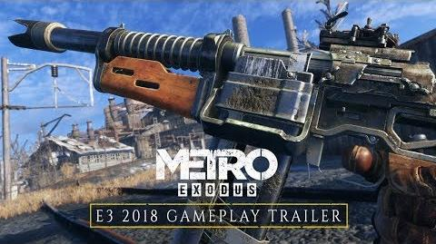 Metro Exodus - E3-2018-Gameplay-Trailer DE