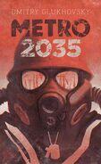 Metro 2035 - włoska okładka
