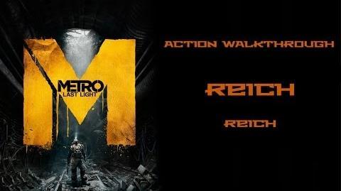 (5) Metro Last Light (Action Hardcore Walkthrough) Reich (Reich)