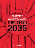 Metro 2035 - francuska okładka