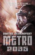 Metro 2035 - słowacka okładka