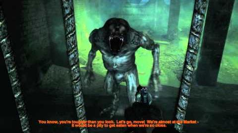 Metro 2033 (Action hardcore challenge walkthrough) Lost catacombs