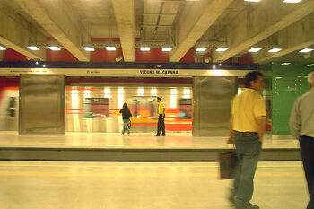 Metro de Santiago - Est. Vicuña Mackenna