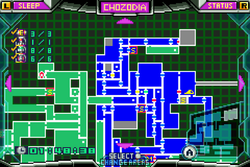 MZM-207-Chozodia Map (All Items)