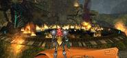 Artifact temple flames