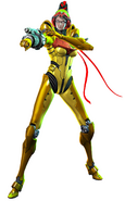Bayonetta 2 Samus costume artwork