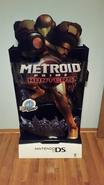 Metroid Prime Hunters Standee