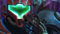 In-game joke X-ray visor