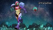 Metroid Samus Returns fanart 1 (AM2R ending)