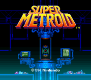 Super Metroid title