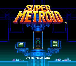 Super Metroid title