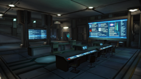 BRC operations base - lower floor 1
