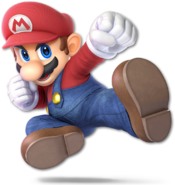 SSB Ultimate Mario render