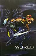 Manual Oficial de Nintendo para Metroid Other M mundo