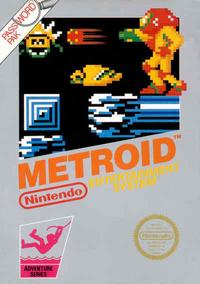 Metroid - Boxart US