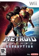 Metroid Prime 3 carátula PAL