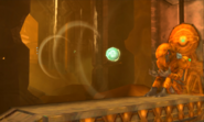 Metroid Samus Returns Chozo Statue (Area 6) Power Bomb Chozo Statue - Item Sphere Stolen (Diggernaut Vaccum)