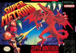 Super Metroid box
