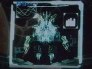 Ghor en el holograma de la nave