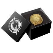 Gold S-Mark Pin